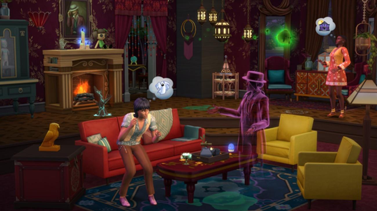 Les Sims 4: Pack d'objets paranormaux - 26 janvier