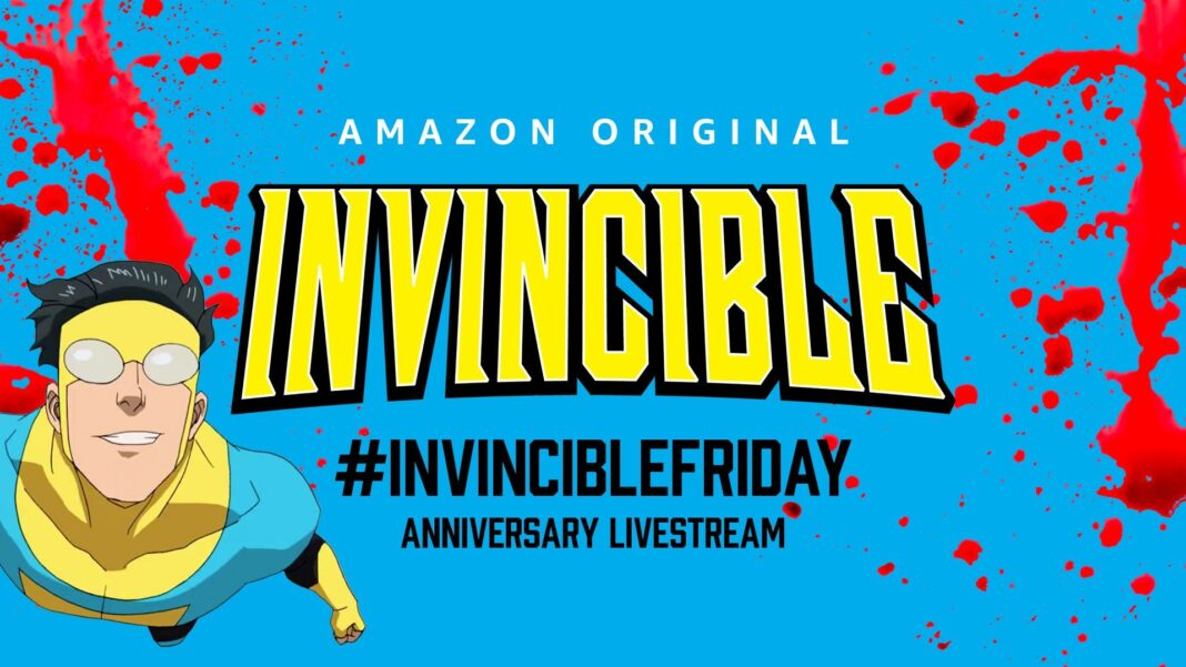 How to watch Robert Kirkman's Invincible Anniversary livestream