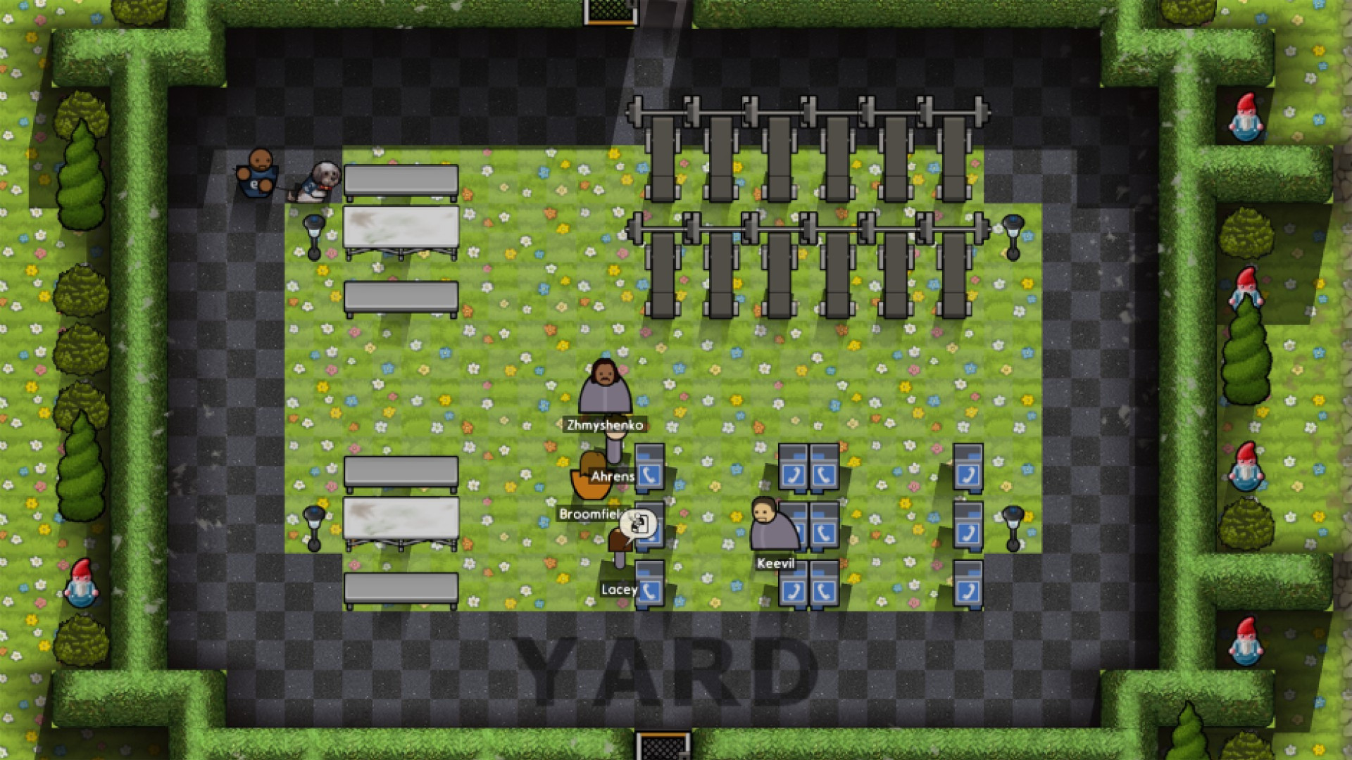 Prison architect: going green