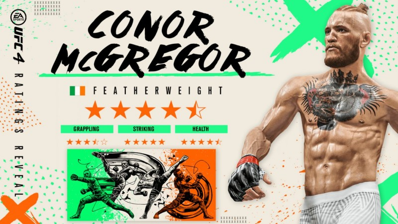 Conor McGregor gets return version in latest UFC 4 update