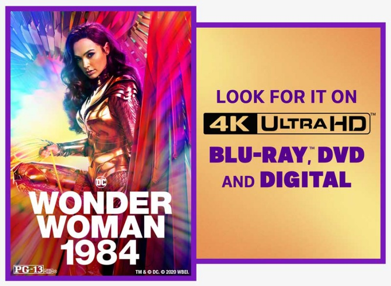 Giveaway: Wonder Woman 1984 Digital Film