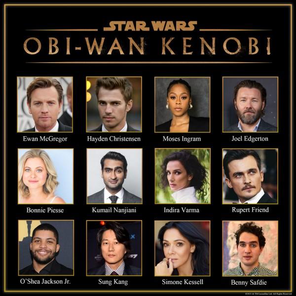 Star Wars: Obi-Wan Kenobi Cast Announced, Vader Returns