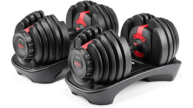 Deals: Bowflex SelectTech 552 Adjustable Dumbbells Back in Stock at Amazon