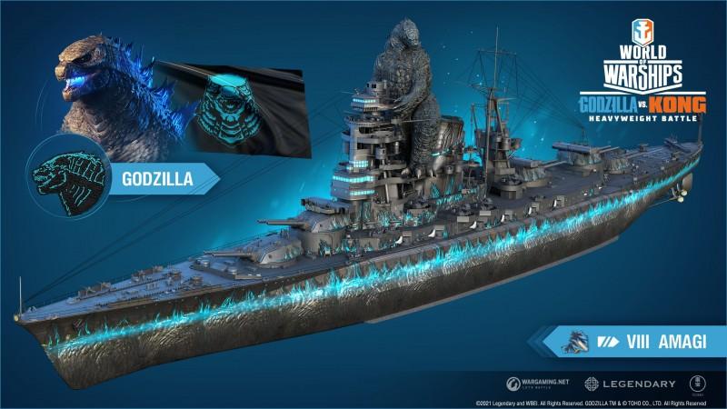 Godzilla vs. Kong invades World of Warships with new update