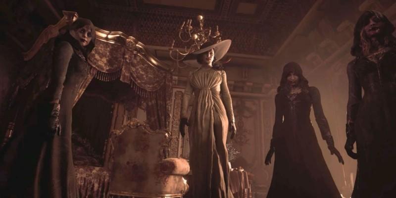 New Resident Evil Village promo art reveals new masked figure